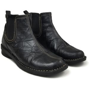 Clarks Shoes - Clarks Bendables Black Leather Booties 9M